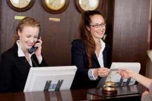 receptionist job descriptions