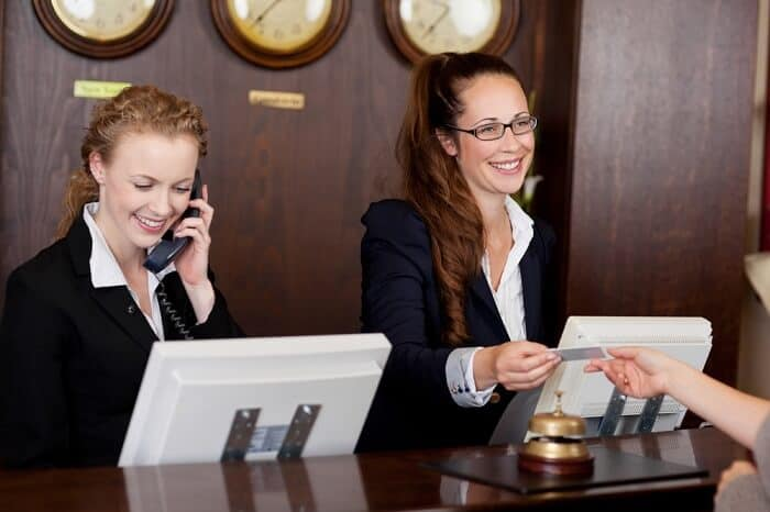 Receptionist Job Description Qualifications And Outlook  Job