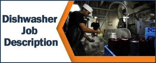 Dishwasher Job Description