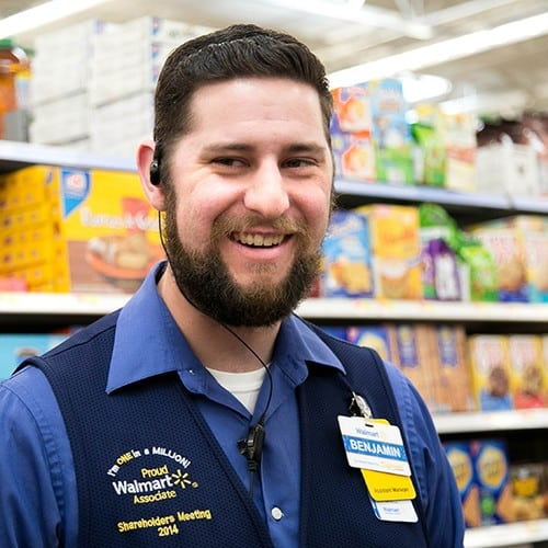 Walmart support manager
