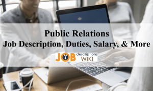 public relations job description