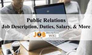 public relations job description